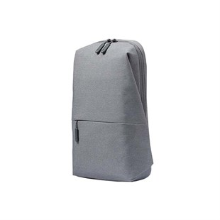 MI City Sling Bag Light Gray